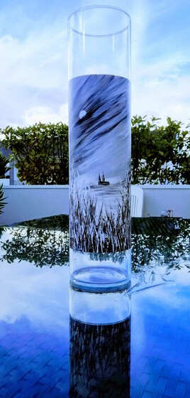 SOIR DE PLEINE LUNE EURELIEN vase photophore