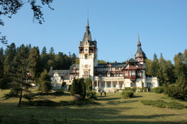 Châteu Pelès en Roumanie