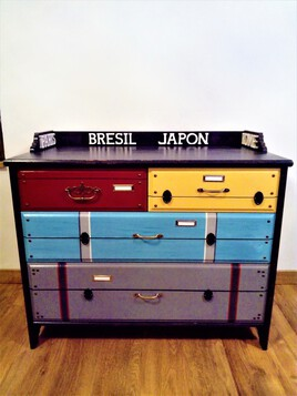 commode valise