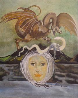La femme et le dragon