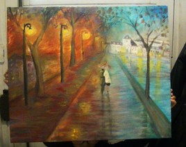 Peinture balade