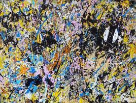 abstrait art peinture