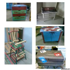 meubles peinds