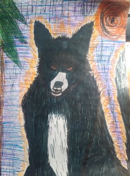 Loup Psychédélique