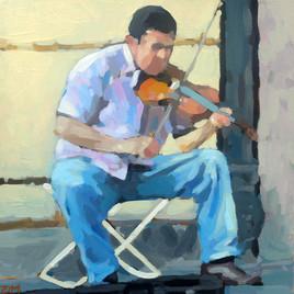 Le violoniste de rue