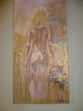 Peinture sur toile 12po x 24po