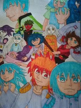 Mes personnages