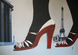 talons rouges du Trocadéro