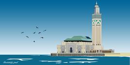 Mosquée Hassan II-Casablanca-Maroc