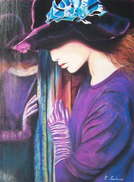 Jeune fille au miroir