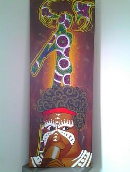 Peinture Sur un air de didgeridoo