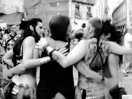 Danseurs de rue (Besalú, Girona, Spain)