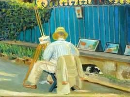 Peintre sur le motif