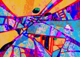 Pixart 41 - Création numérique abstraite sur papier photo
