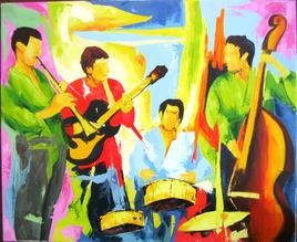 Quatuor à la batterie