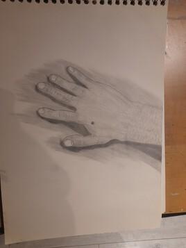 La main créative.