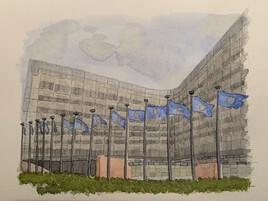 Le Berlaymont (la Commission Européenne)