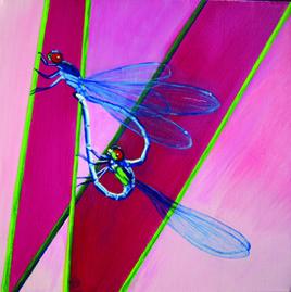 Coeur de libellules
