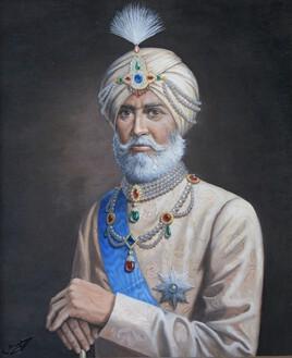 Portrait de Maharadja