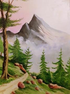 Sentier montagneux