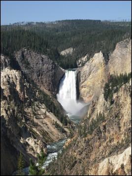 Cascade - Parc National de Yellowstone