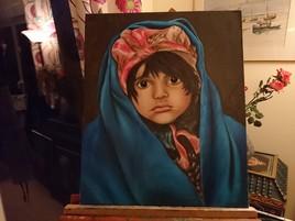 Petite fille afghane