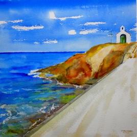 Collioure : Sur le chemin de la Chapelle St Vincent