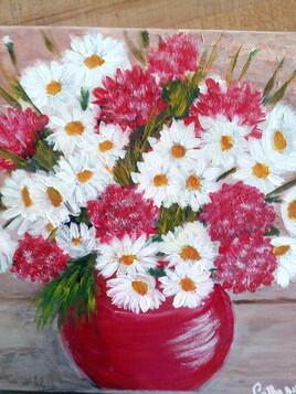 Des fleurs!!