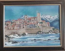 Antibes, sa vieille ville et ses remparts