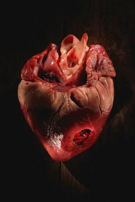 cœur de porc