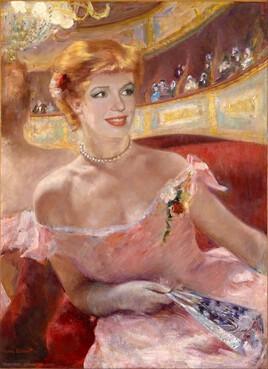 Marilyn revisite  une peinture de Mary Cassatt ..