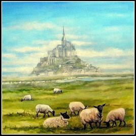 les moutons du mont saint Michel
