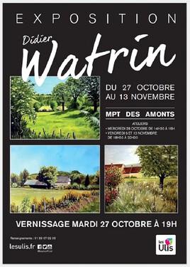 Affiche expo Watrin91 2020