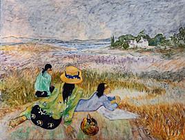 Les vahinées de Gauguin...