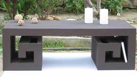 Table basse japonisante