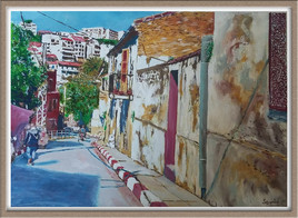 Rue Med el Hachemi ( Bejaia ) - ALGERIE -
