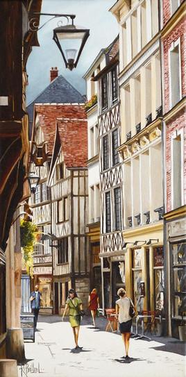 Rouen rue Damiette