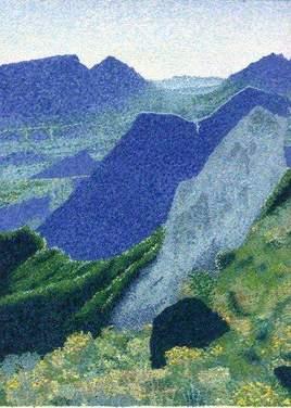 Monts bleus