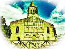 église de jonzac