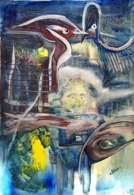Le Peintre. Face 1