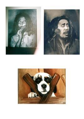 Bob Marley et chien