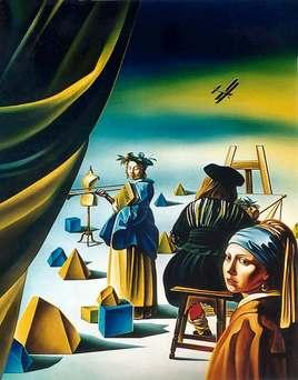 Hommage à Vermeer