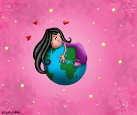 Il est à moi le monde !!! by Myria-Moon