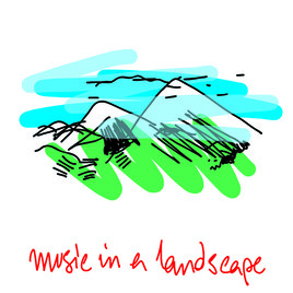 music in a landscape