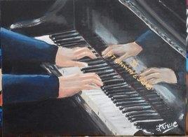 Le pianiste de jazz