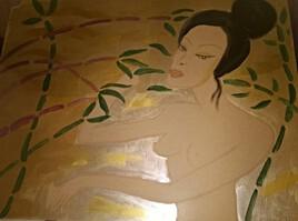 Le bain de bambous de Nano