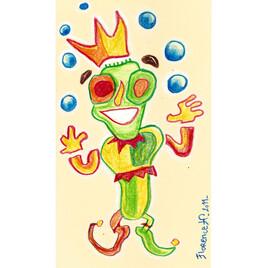 Bouffon jongleur
