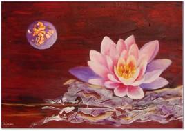 Lotus au clair de Lune