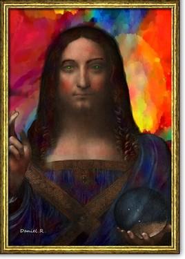 d'âpre l'oeuvre de Léonard de Vinci ...