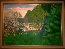 La maison du peintre au printemps